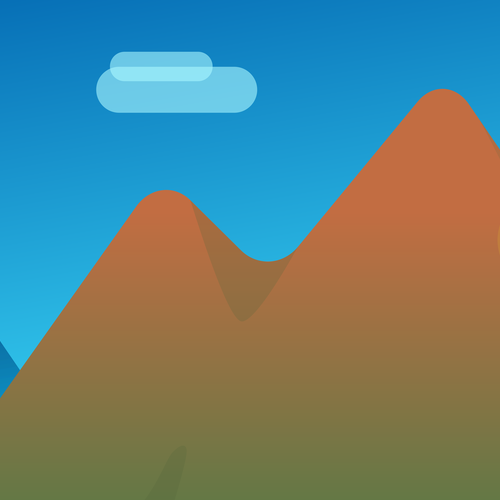 Berge-Illustration